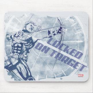Hawkeye Locked On Target Mouse Pad
