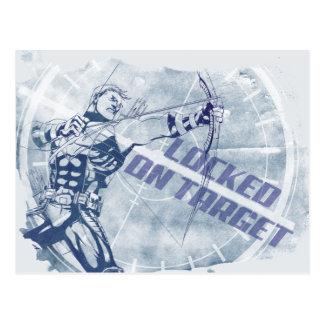 Hawkeye Locked On Target Postcard