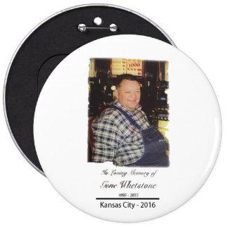 Hawkeye Memorial Button
