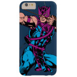Hawkeye Retro Character Art Barely There iPhone 6 Plus Case