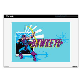 Hawkeye Retro Comic Graphic Skin For Laptop