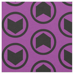 Hawkeye Retro Icon Fabric