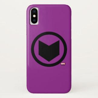 Hawkeye Retro Icon iPhone X Case