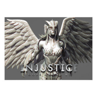 Hawkgirl Alternate Custom Invitations