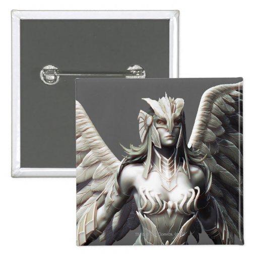 Hawkgirl Alternate Pinback Button