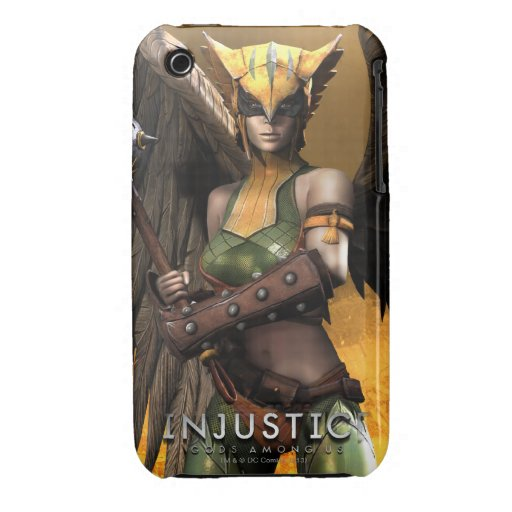 Hawkgirl Case-Mate iPhone 3 Protectores