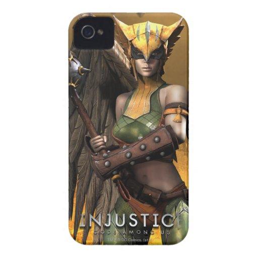Hawkgirl Funda Para iPhone 4