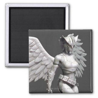Hawkgirl Imán Cuadrado