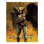 Hawkgirl Impresiones