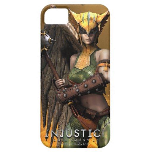 Hawkgirl iPhone 5 Case-Mate Cárcasa