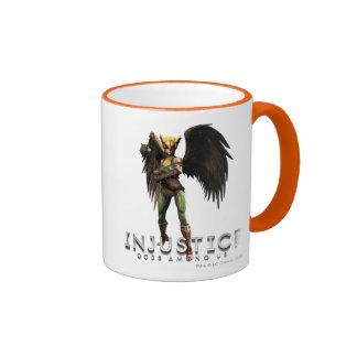 Hawkgirl Ringer Mug