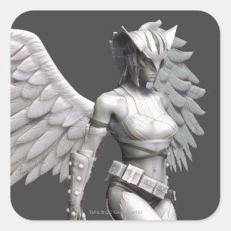 Hawkgirl Square Sticker