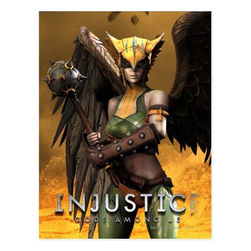 Hawkgirl Postales