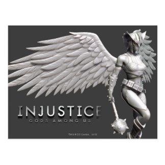 Hawkgirl Tarjeta Postal