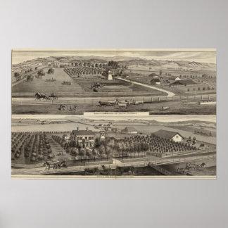 Hawkins, residencias de Mayes Poster