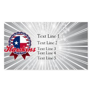 Hawkins, TX Plantilla De Tarjeta Personal