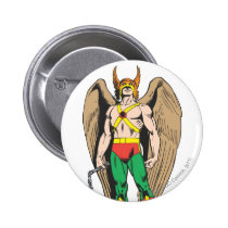 hawkman, hawkwoman, carter, hall, katar, holl, mace, justice league heroes, justice, league, justice league logo, justice league, logo, hero, heroes, dc comics, comics, comic, comic book, comic book hero, comic hero, comic heroes, comic book heroes, dc comic book heroes, batman, bat man, the dark knight, superman, super man, green lantern, wonder woman, shazam, green arrow, hawk man, hawk woman, plastic man, firestorm, dr. fate, martian manhunter, red tornado, Button with custom graphic design