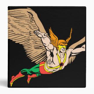 Hawkman Flies 3 Ring Binder