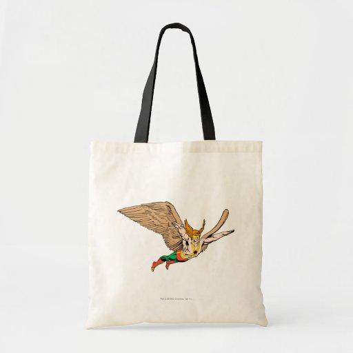 Hawkman Flies Canvas Bags