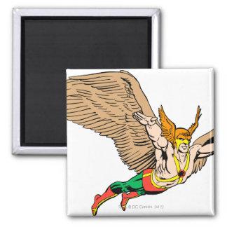 Hawkman Flies Magnet