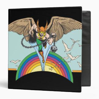Hawkman Flies Thru Sky Binder