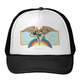 Hawkman Flies Thru Sky Trucker Hat