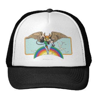 Hawkman Flies Thru Sky Trucker Hat
