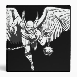 Hawkman Flying Outline 3 Ring Binder