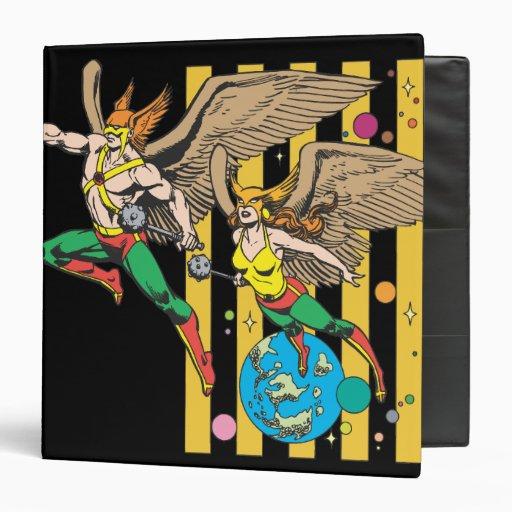 Hawkman & Hawkwoman Binder
