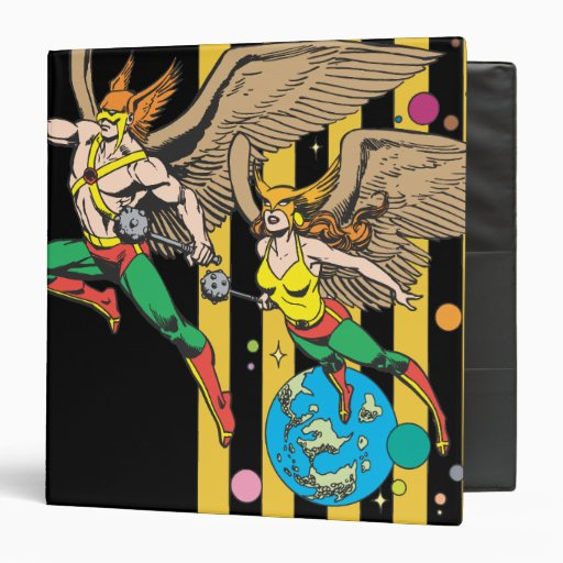 Hawkman & Hawkwoman Vinyl Binder
