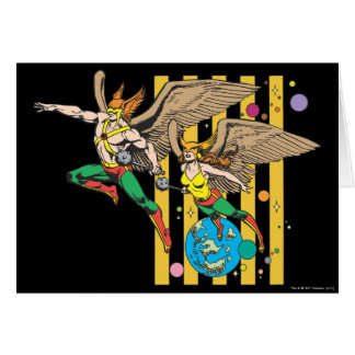 Hawkman & Hawkwoman Greeting Cards