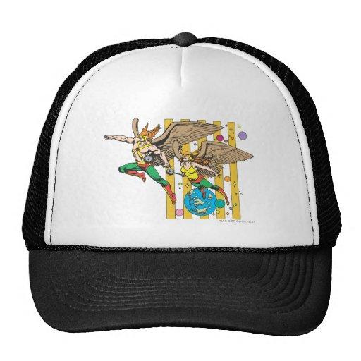 Hawkman & Hawkwoman Hats