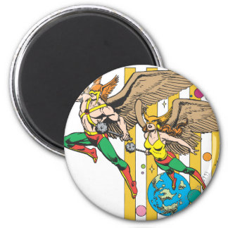 Hawkman & Hawkwoman Magnet