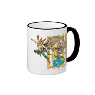 Hawkman Hawkwoman Coffee Mug