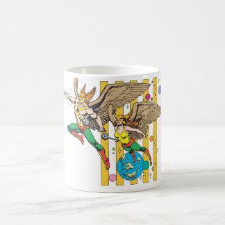 Hawkman & Hawkwoman Classic White Coffee Mug
