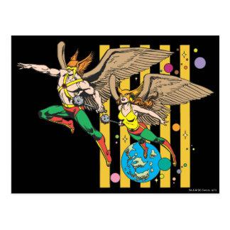Hawkman & Hawkwoman Postcards