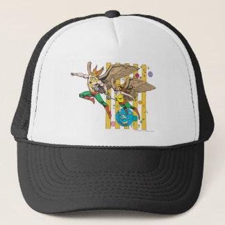 Hawkman & Hawkwoman Trucker Hat