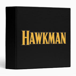 Hawkman Logo 3 Ring Binder