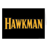 Hawkman Logo Card