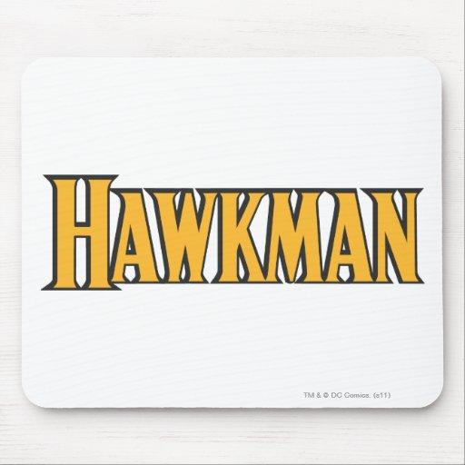 Hawkman Logo Mouse Pad