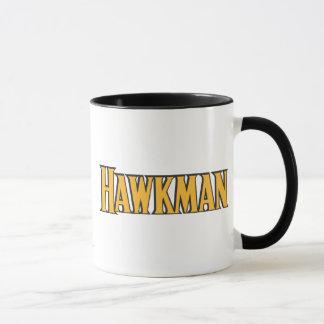 Hawkman Logo Mug