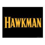 Hawkman Logo Postcard
