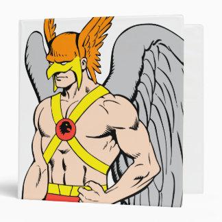 Hawkman Standing Pose 3 Ring Binder