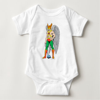 Hawkman Standing Pose Baby Bodysuit
