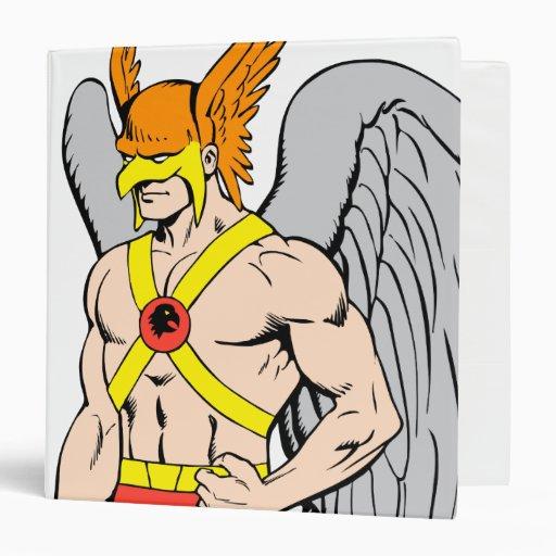 Hawkman Standing Pose Binders
