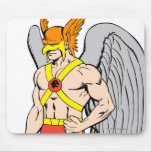 Hawkman Standing Pose Mouse Pad