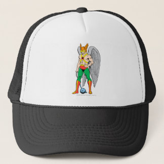 Hawkman Standing Pose Trucker Hat