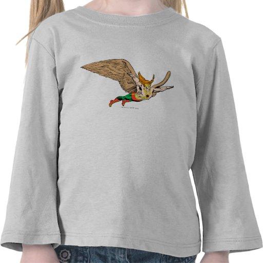 Hawkman vuela camisetas