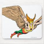 Hawkman vuela mouse pads