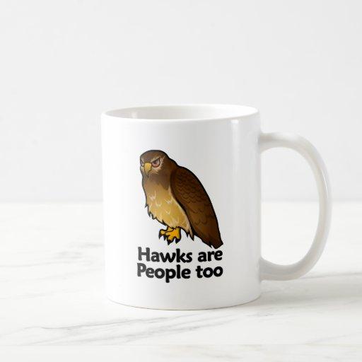 Hawks are People too Coffee Mugs